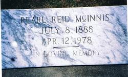 Pearl <I>Reid</I> McInnis