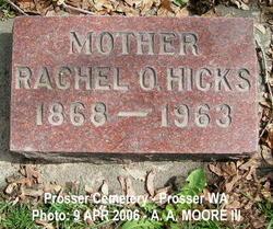 Rachel Olene <I>Bjelland</I> Hicks
