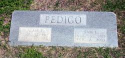 Alma L. <I>Hill</I> Pedigo
