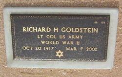 Richard H Goldstein