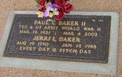Jerri L Baker
