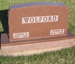 Anna R. <I>Raforth</I> Wolford
