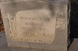 Woodrow W Malone