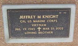 Jeffrey M Knight