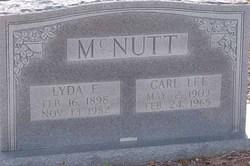 Carl Lee McNutt