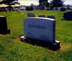 Mary <I>Campbell</I> Bonthron