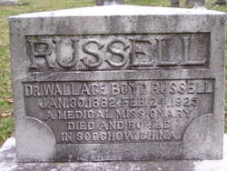 Dr Wallace Boyd Russell