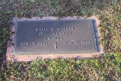 Paul Eugene Willis