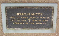 Jerry H McCoy