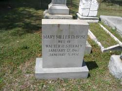 Mary Miller <I>DuBose</I> Stuckey