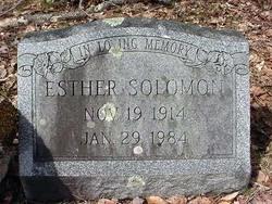 Esther Solomon