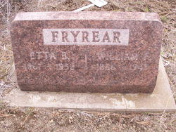 "William F. ""Will"" Fryrear"