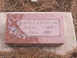 Myrtle Estella <I>Linton</I> McGregor