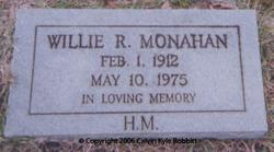 "Willie Rumley ""Bill"" Monahan"