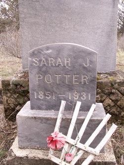 Sarah Jane <I>Winter</I> Potter