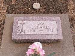 Eva May <I>Linton</I> Schamel