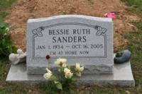 Bessie Ruth <I>Massengale</I> Sanders