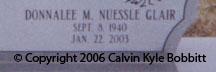 Donnalee M <I>Nuessle</I> Whittle