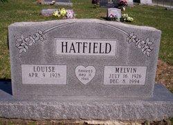 Louise <I>Osterloh</I> Hatfield