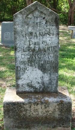 Infant Daughter Duncan