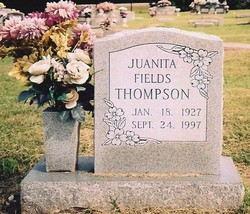 Juanita Pearl <I>Fields</I> Thompson