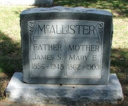 Mary Ella <I>Matthews</I> McAllister