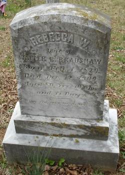 Rebecca W. <I>Ayers</I> Bradshaw