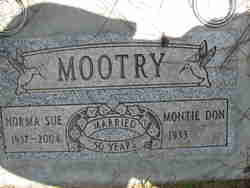 Montie Don Mootry
