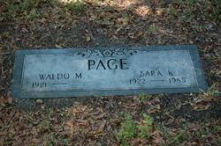 Sara K. Page
