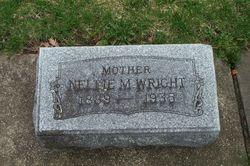 Nellie M. <I>Borqwardt</I> Wright
