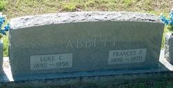 Frances <I>Finnell</I> Abbett