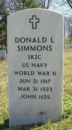 Donald L Simmons