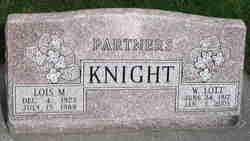 Lois <I>Marshall</I> Knight