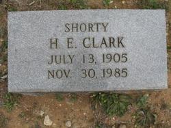 """Hughley Edward """"Shorty"""" Clark"""