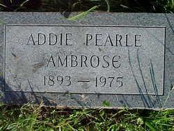 Addie Pearl Ambrose