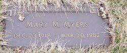 """Mary Margeret """"Marge"""" <I>Butts</I> Myers"""
