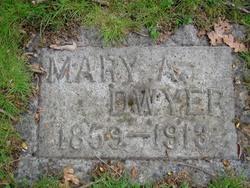 Mary A <I>Ausman</I> Dwyer