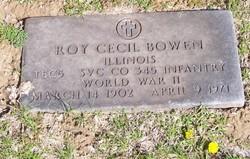 Roy Cecil Bowen
