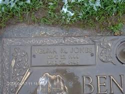 Velma Mae <I>Jones</I> Benton