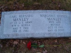 Carl Bernard Manley