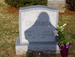 "Robert G. ""Bob"" Crossman"