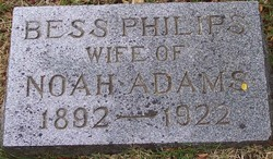 Bess <I>Philips</I> Adams