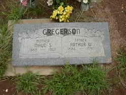 Maud <I>Sylvester</I> Gregerson