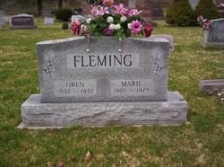 Marie <I>Cron</I> Fleming