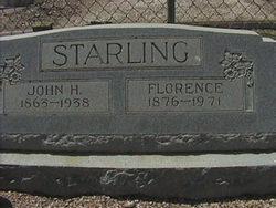 "Florence Inez ""Sister"" <I>Bryant</I> Starling"