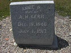 Annie <I>Park</I> Kerr