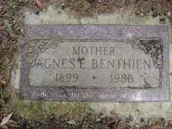 Agnes E <I>Peterson</I> Benthien