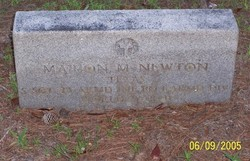 Sgt Marion M. Newton