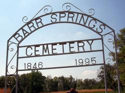 Barr Springs Cemetery