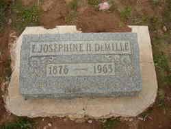Emily Josephine <I>Higgins</I> DeMille